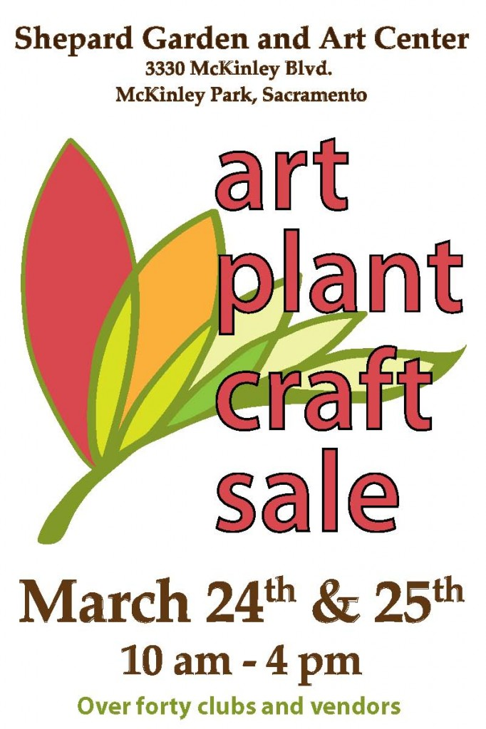 Huge Sale At Shepard Garden And Art Center Next To