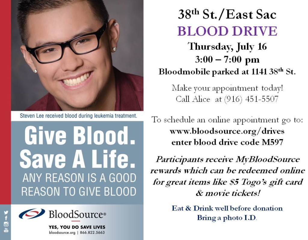 38th Street Blood Drive